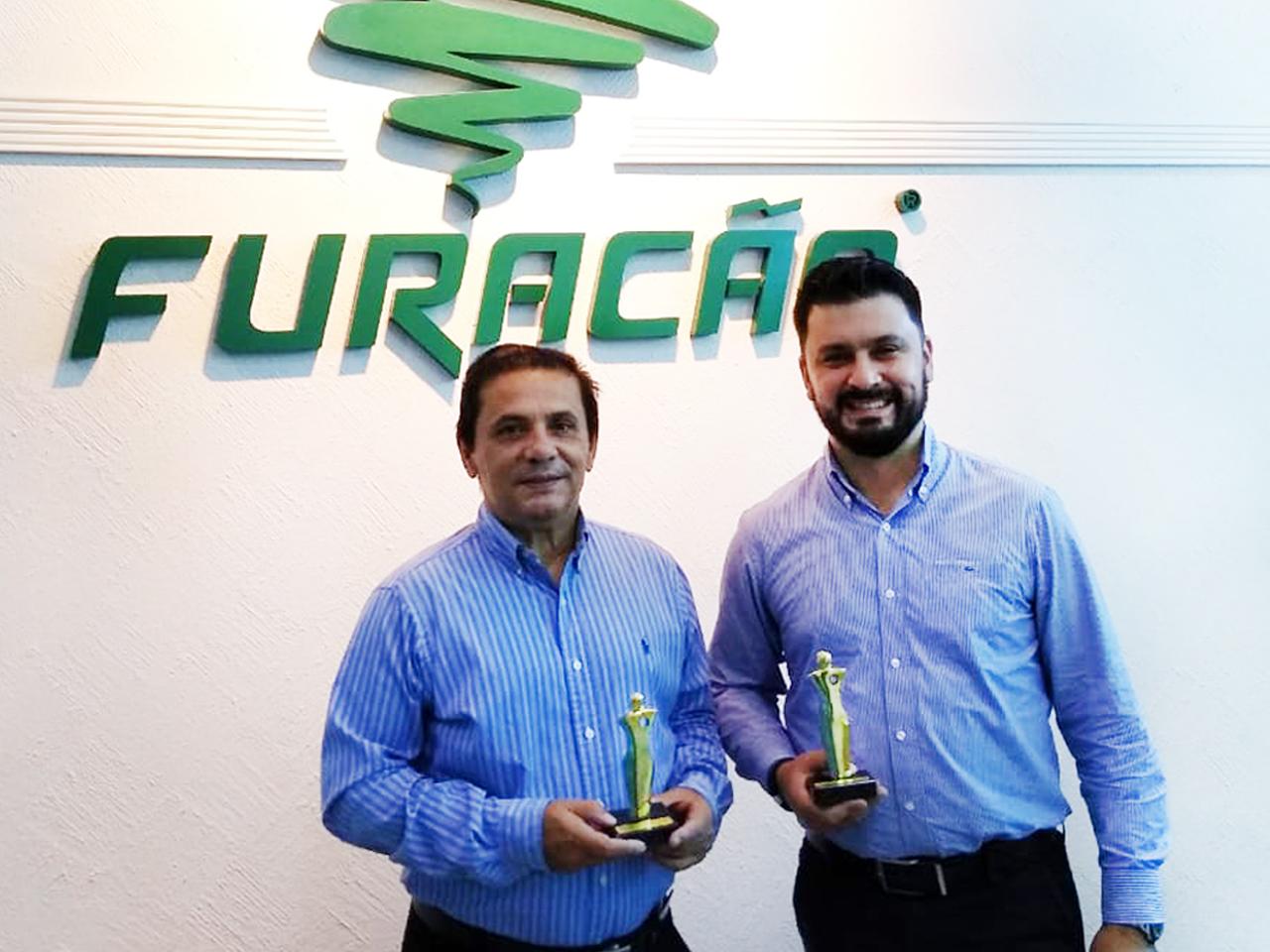 Furacão é premiada pela Maiores & Melhores em Distribuição de Autopeças!
