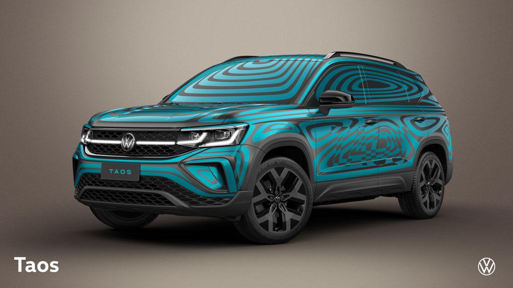 Volkswagen Taos ganha camuflagem oficial antes do lançamento