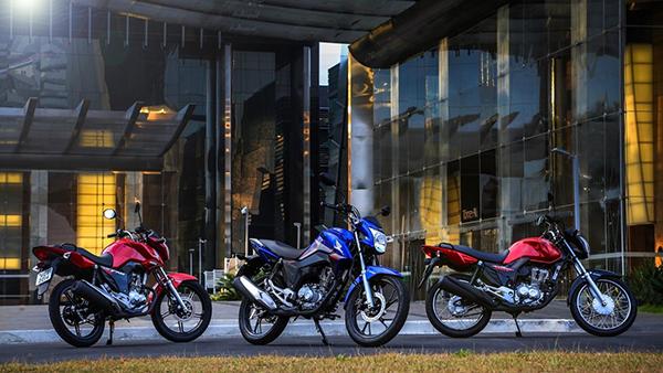 Honda convoca 160 mil unidades da CG 160 por falha na suspensão