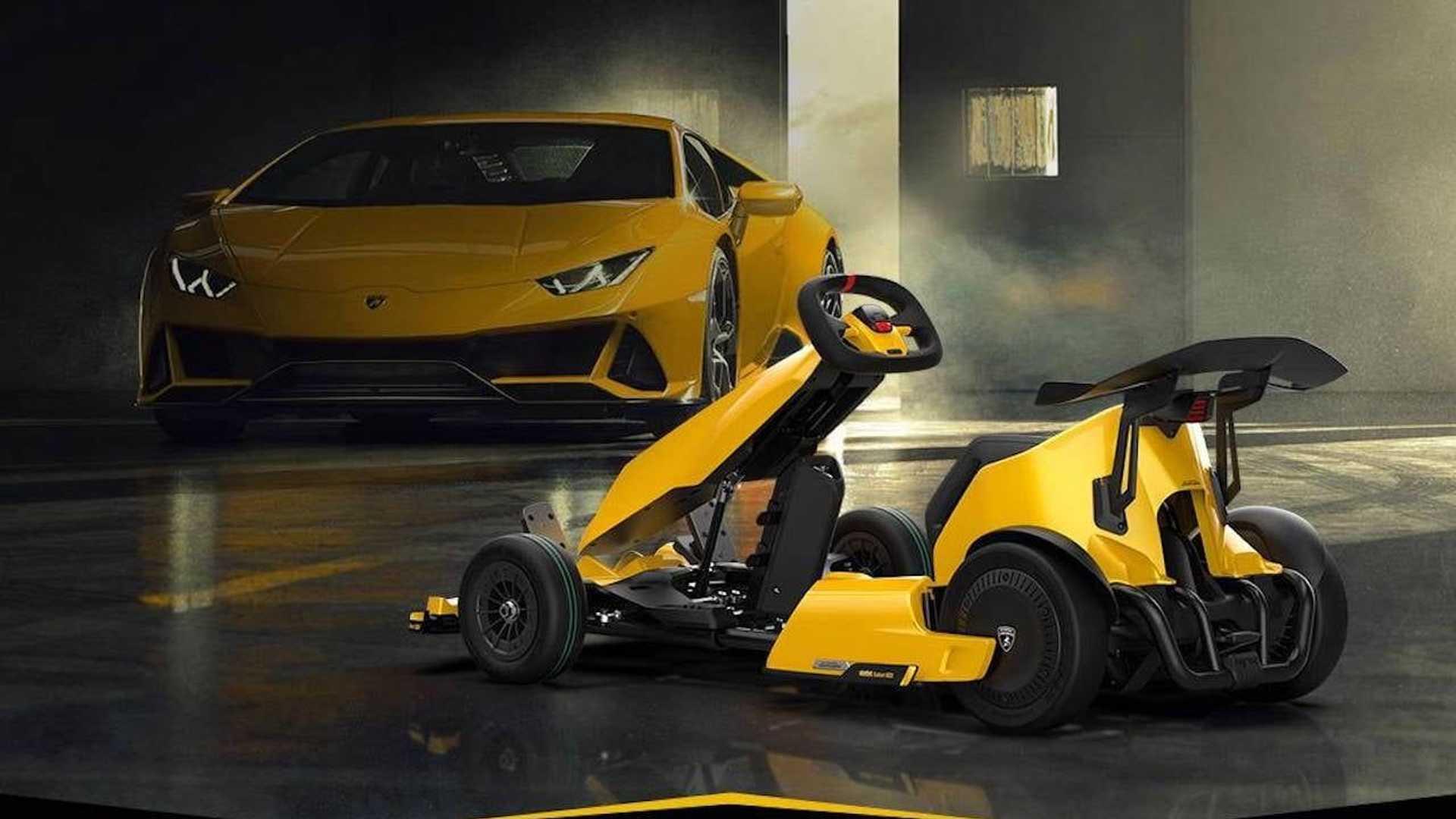 Xiaomi lança kart elétrico que imita o ronco de um Lamborghini